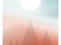 Gradient Light Poster