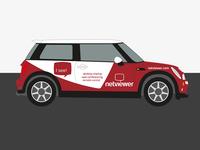 Netviewer Fahrzeugbeschriftung