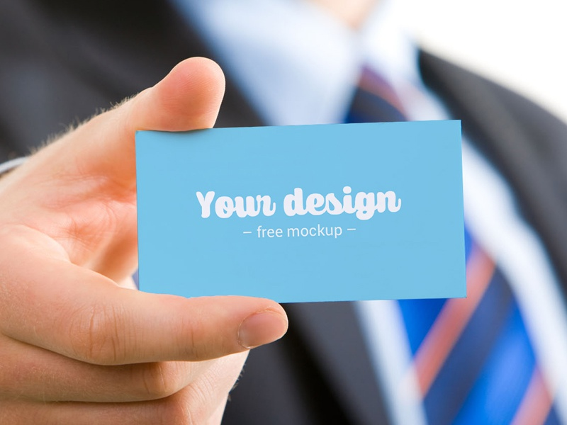 Business card freemockup