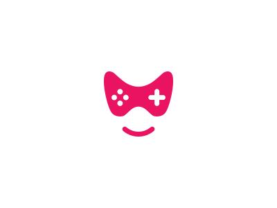 Lamer joystick smyle mark lamer gamer controller game face logo