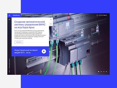 Khen website web design web themoonstudio slider minimal main interface fullscreen flat design auburnbear