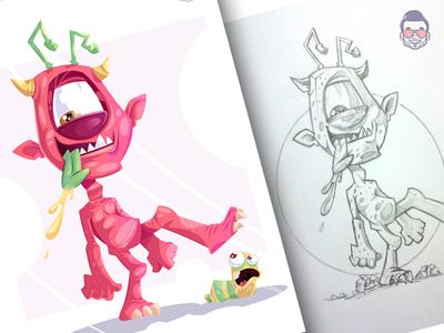 Pink Monster- Mr. MAARLO