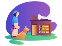 Dog Care Illustrations