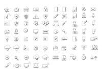 Sketched Icons Expanded