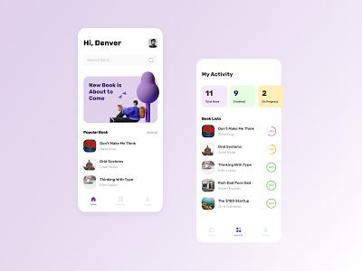 Book Discovery App icon vector illustration 3d ux uiuxdesigner uiux ui minimal app