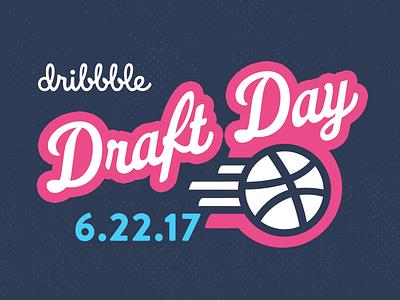 Dribble Draft Day draftday invitation draft dribbble