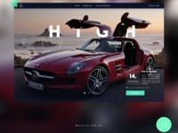 Website Concept Redesign for Mercedes Benz