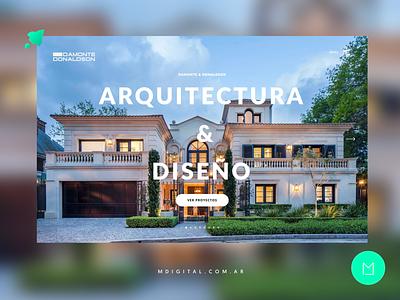 Architecture Studio Web Design uxuidesign ux  ui webdesigner web architecture webdesign