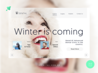 Web Design for Dental Clinic