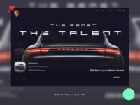 Porsche Web Redesign