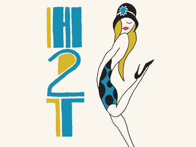 Hed2Toe - Logo Design logo typography lettering illustration hand-drawn fashion