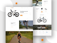Bicycles Landing Page