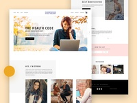 Concious World Website Design