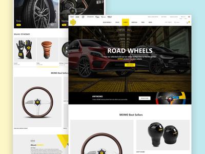 Mymo Homa Page Design