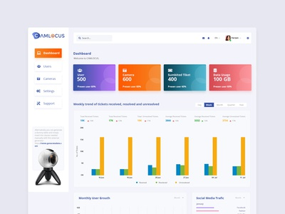 Dashboard Overview Page Ui