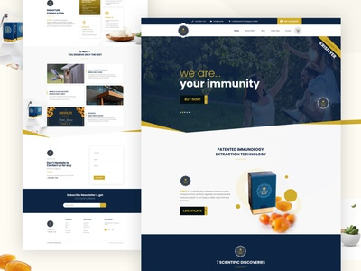 Healthcare Product Website Home Page user interface ui design agancy branding agency card ui  ux uiux ui typography clean agency illustration product landing page landing page ui website minimal webdesign landing page