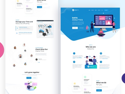 Data Analysis Website Design