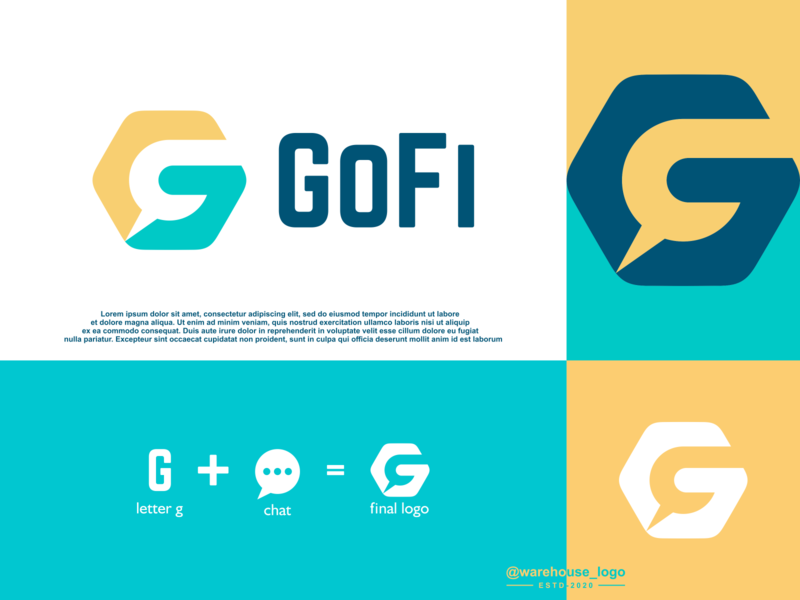 g chat logo idea marketing consulting app brand identity awesome logoawesome logo chat g abstract illustration font initials identity icon designispiration graphicdesigner design brandmark branding