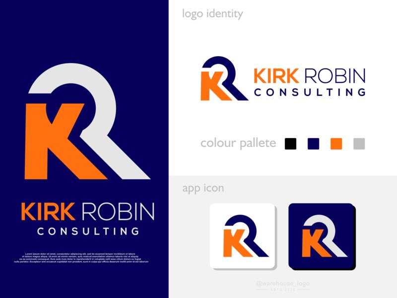 kr logo idea brand identity awesome logoawesome r k rk kr initials logo app ui monogram abstract initials identity icon designispiration graphicdesigner design brandmark branding