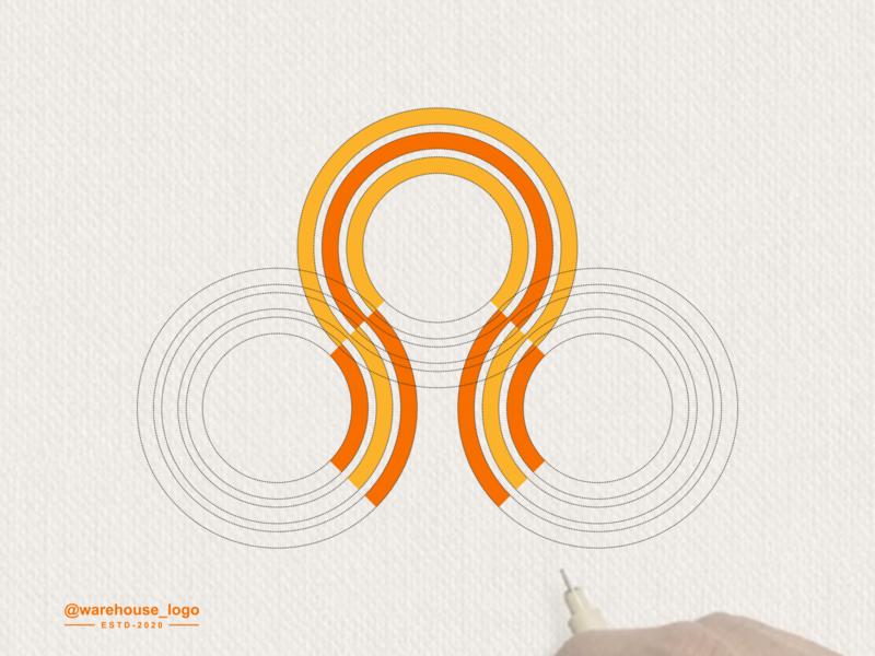 awesome logo idea symbol vector brand identity awesome logoawesome logo circle monogram abstract illustration font initials identity icon designispiration graphicdesigner design brandmark branding