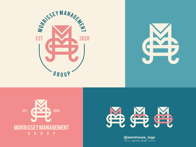 mmg logo idea clothing luxury brand identity monogram logos logo gm g m abstract illustration font initials identity icon designispiration graphicdesigner design brandmark branding