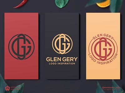 gg monogram salon company initial clothing logoinspiration brand identity monogram g gg abstract illustration font initials identity icon designispiration graphicdesigner design brandmark branding