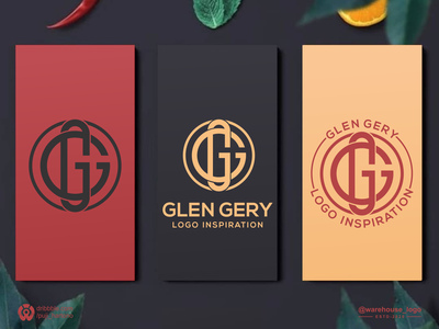 gg monogram salon company initial clothing logoinspiration brand identity monogram g gg abstract illustration font initials identity icon designispiration graphicdesigner design brandmark branding