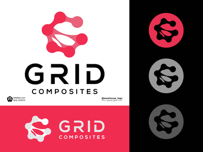 grid composites logo inspiration simple awesome logo clothing company logogrid logo monogram awesome grid g illustration font initials identity icon designispiration graphicdesigner design brandmark branding