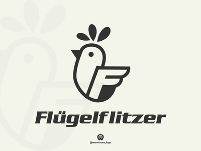 chicken + f logo design template symbol flat luxury fashion clothing company brand identity logo chicken f illustration font initials icon identity graphicdesigner designispiration design brandmark branding