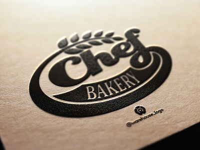 chef bakery logo design template logotype illustrations logoinspiration online company branding design black bakery chef logos illustration font initials icon identity graphicdesigner designispiration design brandmark branding