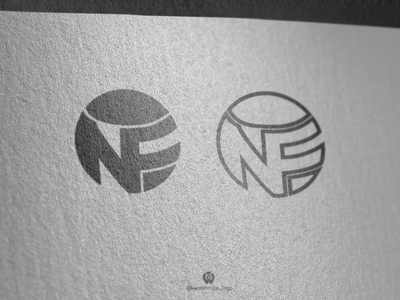 NF logo design template monogram logoset logosai logoinspirations new company branding company logos illustration font initials icon identity graphicdesigner designispiration design brandmark branding