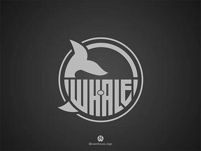 WHALE logo design template logotypes logo inspirations logotype logo whale logo graphic design awesome whales fish whale illustration font initials icon identity graphicdesigner designispiration design brandmark branding