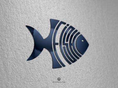 awesome fish logo design template logoawesome logotype company brandidentity awesome logodesign logojob logomaker logoinspirations logos ui logo illustration icon identity graphicdesigner designispiration design brandmark branding