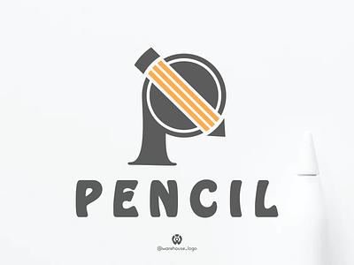 awesome creative letter p pencil logo brandidentity symbol designinspirations artys logodesign logoinspirations logomaker simple creative p ui logo illustration icon identity graphicdesigner designispiration design brandmark branding