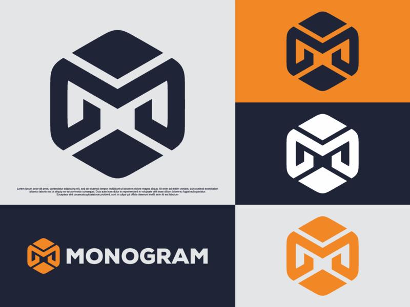 letter m monogram abstract font hexagon m illustration identity icon graphicdesigner esportlogo esport designispiration design brandmark branding