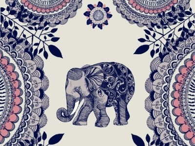 Elephant Design By Rose Halsey On Dribbble