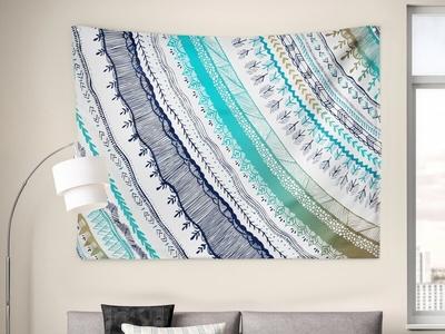 Boho Fall Tapestry