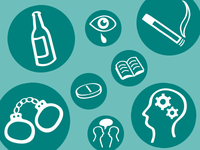 Icons for Parenting Troubled Teenagers Site