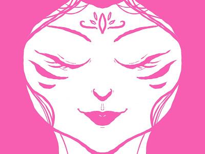 Hearth Spirit - Pink Ray character design digital illustration ilustración digital ilustración illistration ray pink