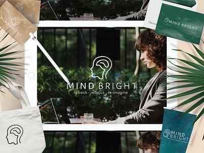 Logo Design Mindbright by Simply Whyte Design graphic design branding design brand identity brand design branding logo design branding logo design