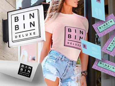Logo Design for Bin Bin Deluxe by Simply Whyte Design design graphic design logo designer logodesign vector branding logo