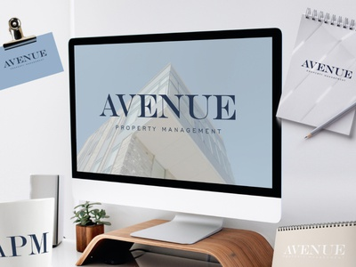 Logo Design for Avenue by Simply Whyte Design design graphic design logo designs brand designer logo design vector branding logo