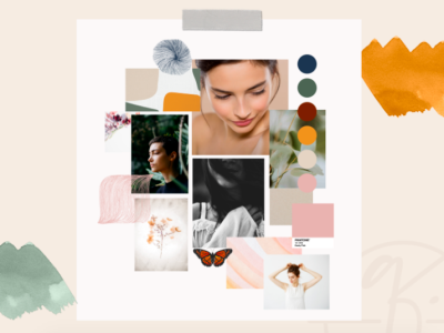 Mood Board for Quietly Confident by Simply Whyte Design