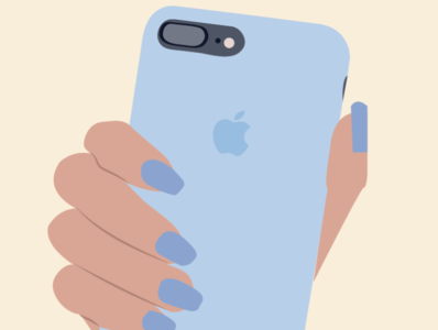 Phone Illustration by Simply Whyte Design