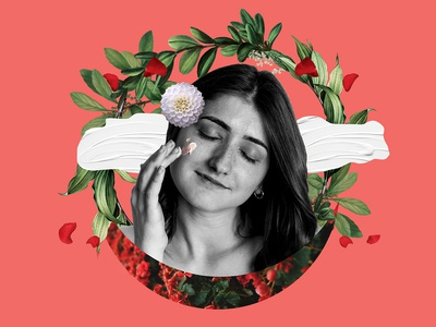 Digital collage created for @littleindiebeauty
