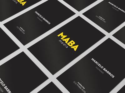 MABA Media Business Card Black Edition