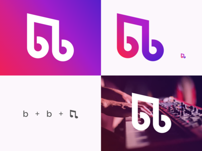 B & B Monogram logo Concept