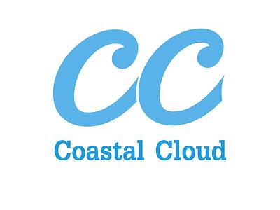 Coastal Cloud Logo cloud computing technology modern computer it logo welogodesigner digital