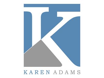 Karen Adams editor logo digital welogodesigner logo
