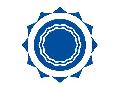 Sun & Hope medical logo logo designer welogodesigner digital blue logo branding logo marks